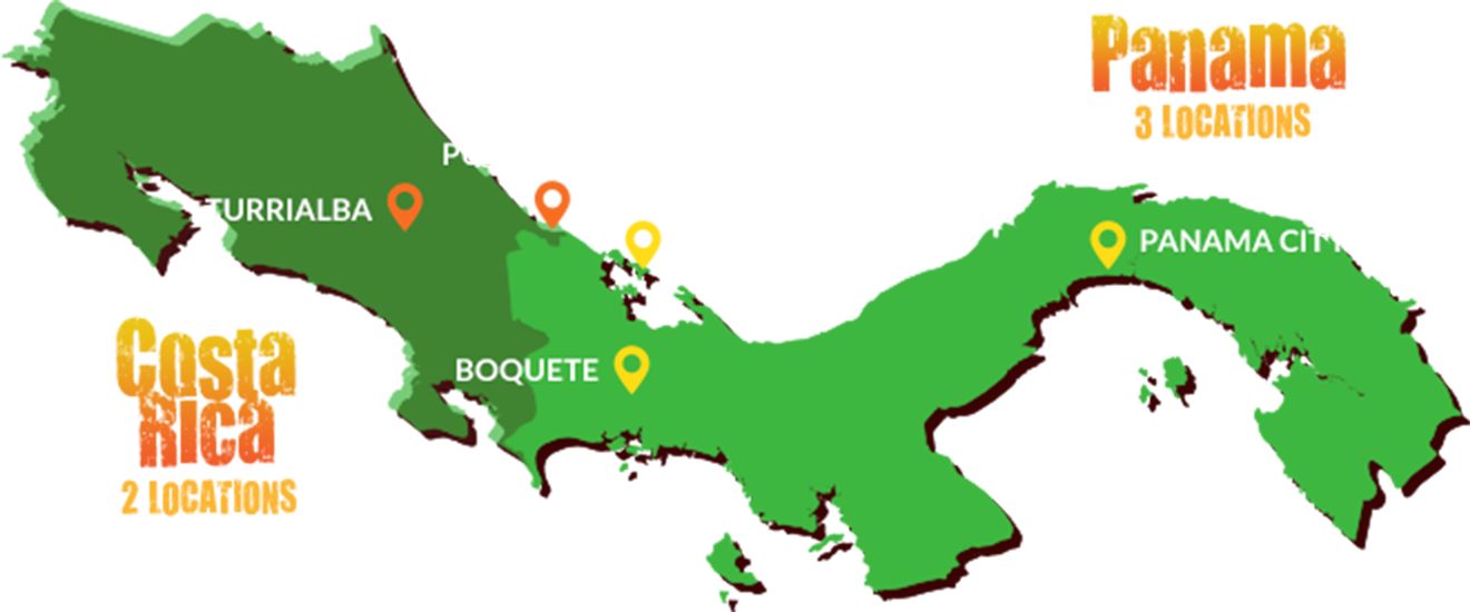 Map Of Spain For Classroom.Learn Spanish In Costa Rica And Panama