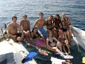 Catamaran adventures in Bocas