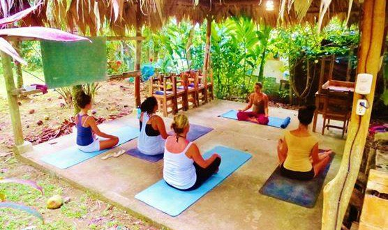 Practice yoga with us -Spanish by the Sea - Puerto Viejo