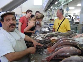 The famous Fish Market - Panama City