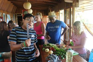 Cooking class! - Turrialba