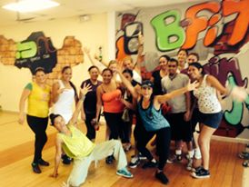 Zumba workout in Boquete!
