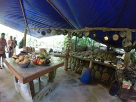 Kitchen from Gekui River Camp