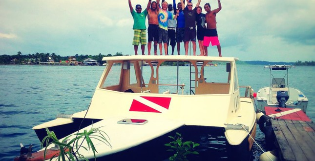 Catamaran tours in Bocas