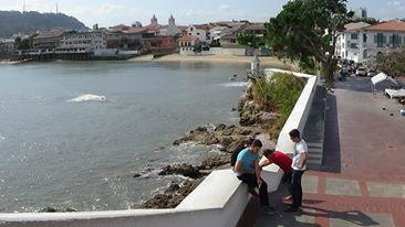 Casco Viejo boardwalk