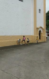 Impression of the streets of Portobelo - Panama