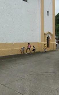 Impression of the streets of Portobelo - Panama