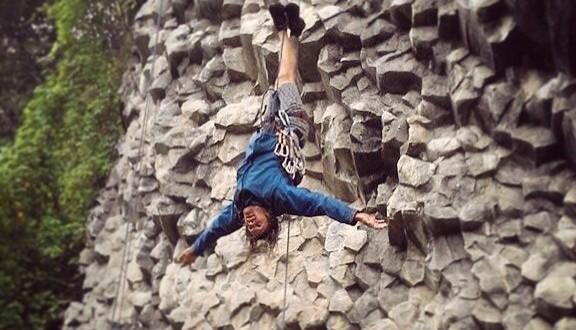 Crazy climbing in Boquete