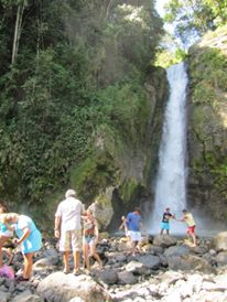Waterfall tour by horse back - Turrialba