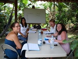 Classroom in Turrialba - Spanish by the River