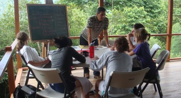 Class in session - Turrialba