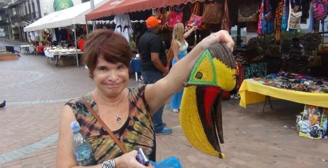 Souvenir shopping in Casco Viejo - Panama