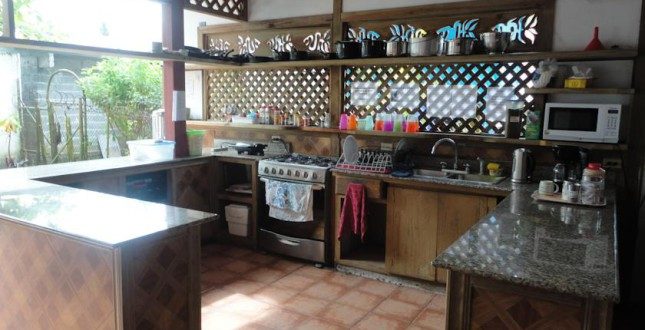Spanish by the Sea kitchen