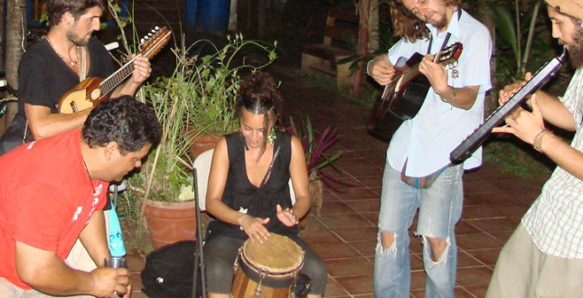 We be Jammin in Bocas del Toro