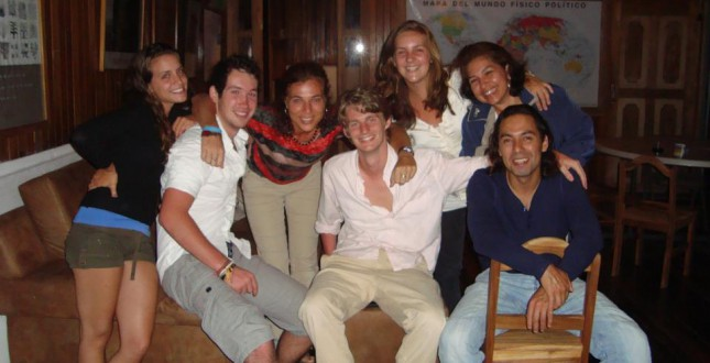 Alumns of the Travelling Classroom