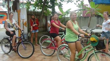 Bike Bocas! Spanish by the Sea