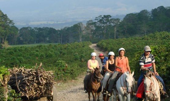 Turrialba by horseback