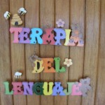 "Sign ""Terapia del Lenguaje"""