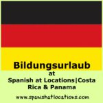 Logo with German flag and text