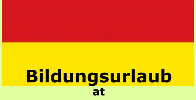 Bildungsurlaub at Spanish at Locations