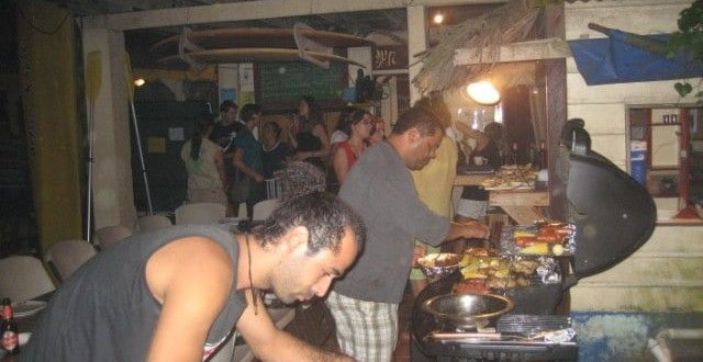 Barbecue at Spanish by the Sea