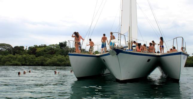 Catamaran Tour - Bocas del Toro