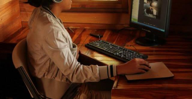 Internet Café Spanish by the River - Boquete
