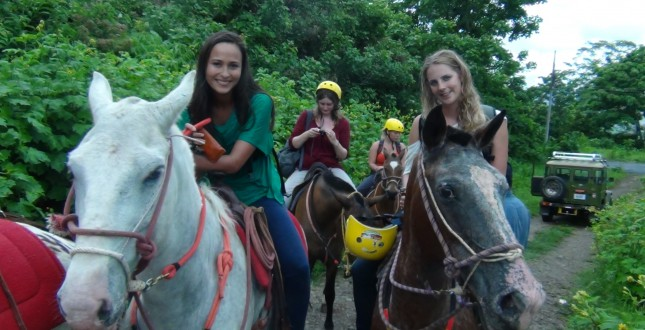 Explore Turrialba by horseback