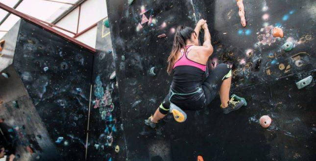 Climbing Wall at La Posada - Panama City