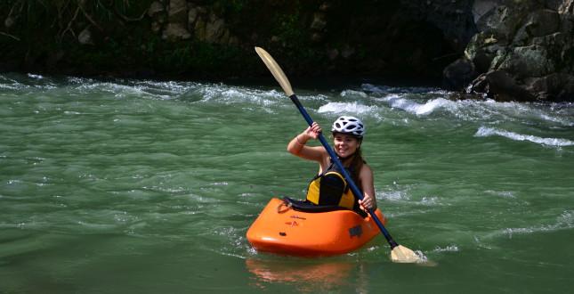 Spanish & River Kayak