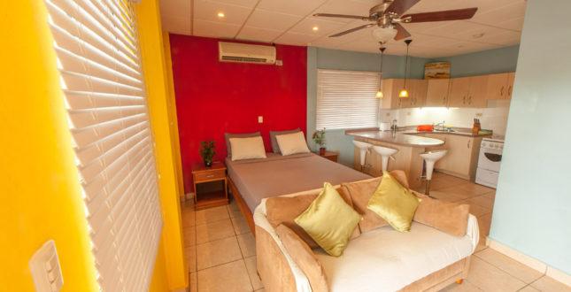 Condo studio setup in Bocas del Toro