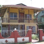 Caribbean House of Familia Cerezo in Bocas