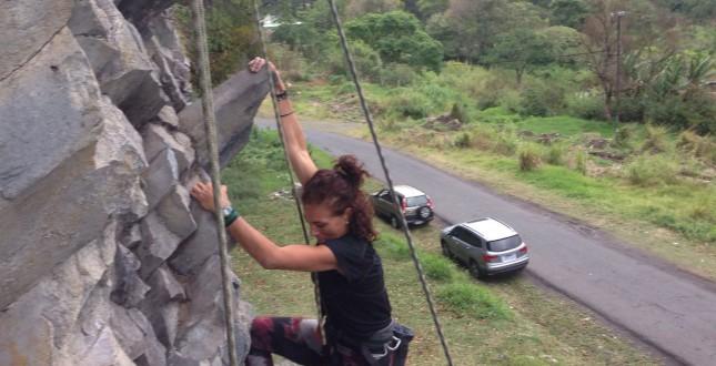 Rock climbing in Boquete