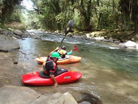 Spanish & River Kayak - Costa Rica