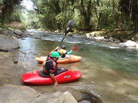 Spanish & River Kayak - Costa Rica