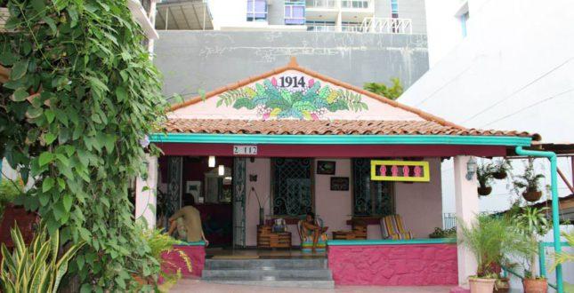 Front of Hostel La Posada
