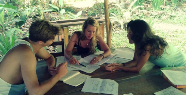 Studying Spanish in Puerto Viejo