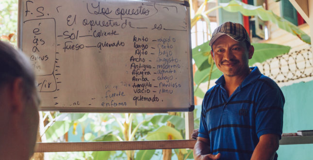 Teacher in Bocas del Toro