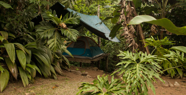 Glamping in Gekui Pacuare River Camp