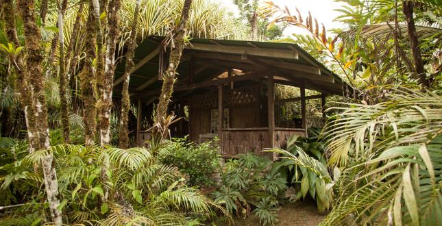 Bathroom in Gekui River Camp Pacuare