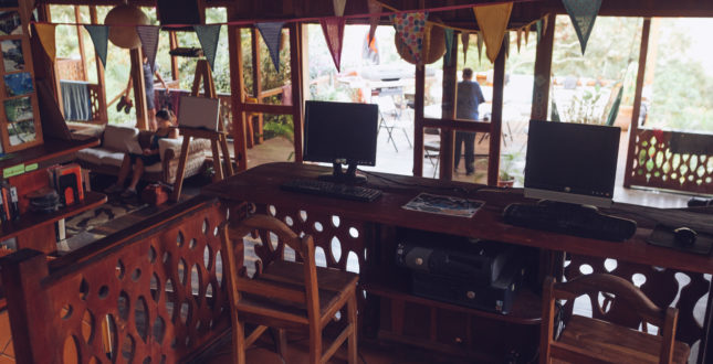 Communal Area Spanish by the River - Turrialba