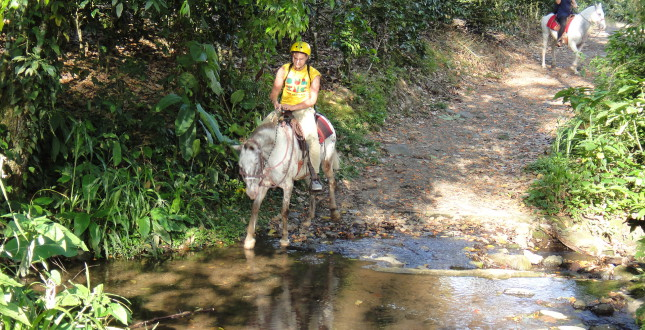 Horseback adventure in Turrialba, Costa Rica