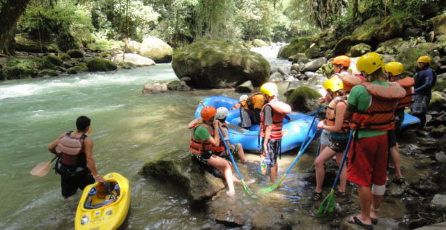 River Rafting on the Pejivalle River in Turrialba, Costa Rica
