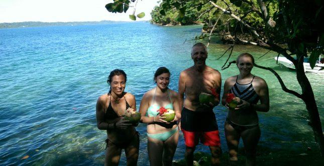 Snorkel & pick.nick in Bocas del Toro