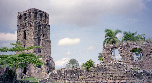 Ruins of Panama Viejo - former Panama City
