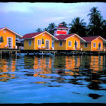 Cabins over the water Bocas del Toro